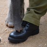 Kavindee and boot