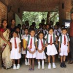 Children with principal and judges